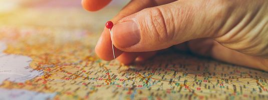 mappa rivenditori con mano